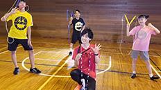NTT東日本フレッツ光CM 「ギガ・なわ跳び篇」出演